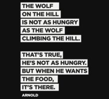 The Wolf On The Hill by ironandthesoul