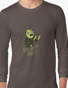 "Lemongrab ""WHO DID THE THING"" 