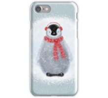 Chilly Little Penguin iPhone Case/Skin