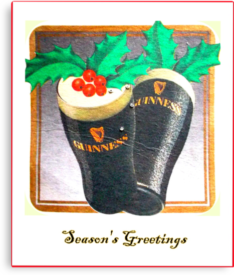 Guinness Season's Greetings by ©The Creative  Minds