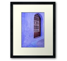 Greek Blues Framed Print