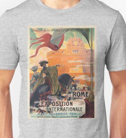 Vintage poster - Rome Unisex T-Shirt