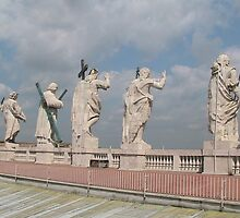 The guardians of St Peter's Square by davidwatterson