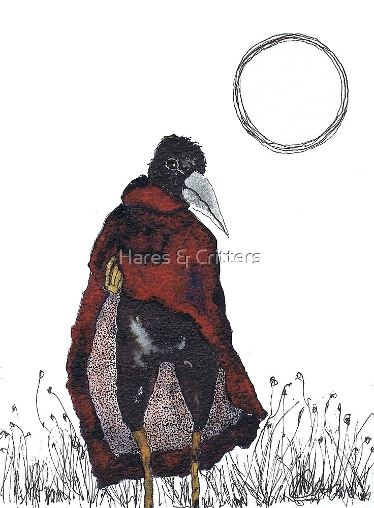CROW by Hares & Critters