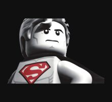 Lego Superman by bigredbubbles6