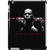 Respect All Fear None ipad iPad Case/Skin