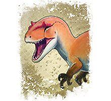 Allosaurus Photographic Print
