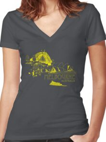 Canberra: the Nation Capital Women's Fitted V-Neck T-Shirt