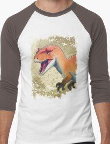 Allosaurus Men's Baseball ¾ T-Shirt