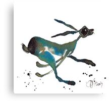 HARE IN A HURRY! Canvas Print
