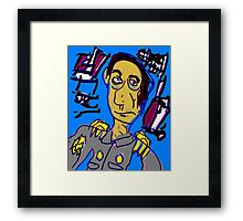Field Commander Cohen Framed Print