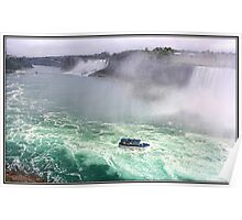 The Falls of Niagara Poster