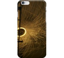Circles and Sparks iPhone Case/Skin
