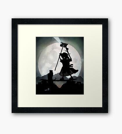Gandalf Kid Framed Print