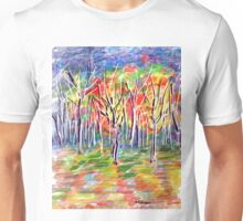 Fall Trees Unisex T-Shirt
