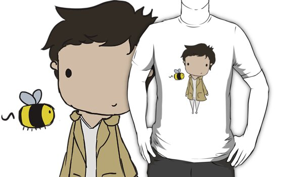 Little Crazy!Cas by CapnAlfie