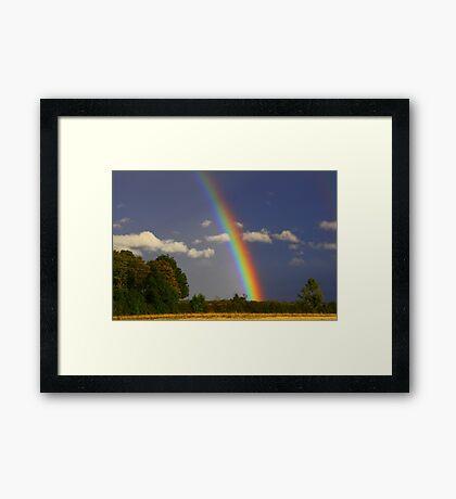Rainbow Magic, September 2012, North England ( 3 features) Framed Print