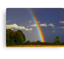 Rainbow Magic, September 2012, North England ( 3 features) Canvas Print