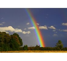 Rainbow Magic, September 2012, North England ( 3 features) Photographic Print