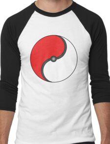 Poke-Ying-Yang Men's Baseball ¾ T-Shirt