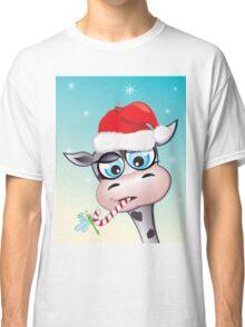 Critterz - cow Christmas spirit Classic T-Shirt