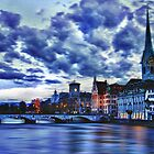 "Zurich Blue by Michael "" Dutch "" Dyer"