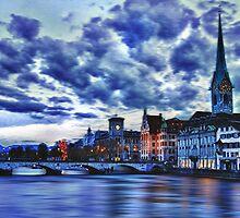 """Zurich Blue by Michael """" Dutch """" Dyer"""