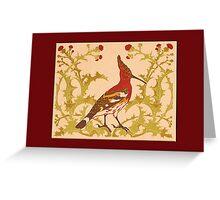 Deco Bird General Greetings Greeting Card