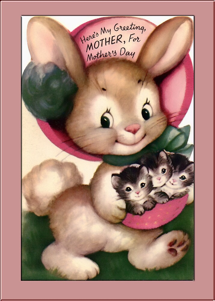 Mothers Day Greetings by Yesteryears