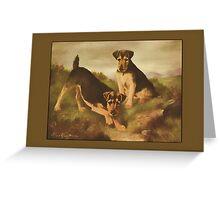 Welsh Terriers General Greetings Greeting Card