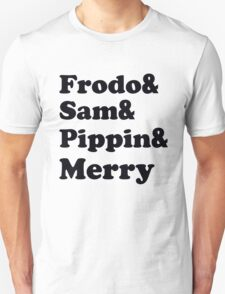 Frodo&Sam&Pippin&Merry Unisex T-Shirt