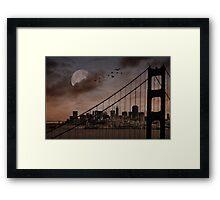 San Francisco (musical link in description) Framed Print