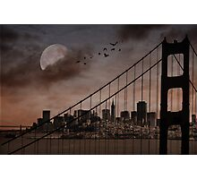 San Francisco (musical link in description) Photographic Print