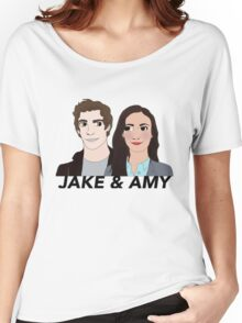 Jake and Amy Women's Relaxed Fit T-Shirt