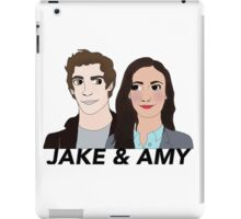 Jake and Amy iPad Case/Skin