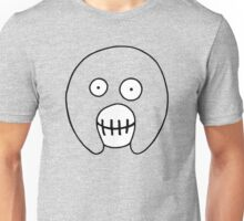 The Mighty Boosh – Hollow Black Outline Mask Unisex T-Shirt