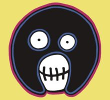The Mighty Boosh –  Blue & Pink Mask Kids Clothes