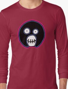 The Mighty Boosh –  Blue & Pink Mask Long Sleeve T-Shirt