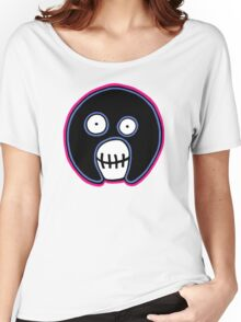 The Mighty Boosh –  Blue & Pink Mask Women's Relaxed Fit T-Shirt