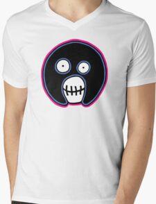 The Mighty Boosh –  Blue & Pink Mask Mens V-Neck T-Shirt