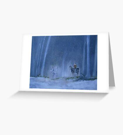 WINTER (Waniyetu) Greeting Card