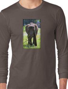 Adorable Elephant Long Sleeve T-Shirt