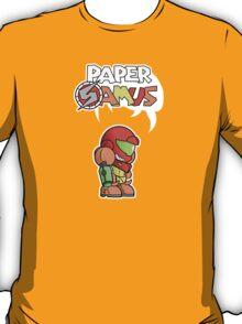Paper Samus (Varia Suit Ver.) T-Shirt