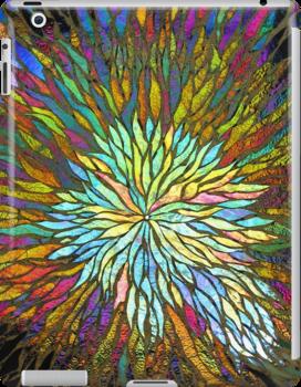 Nebula iPad Case by Leslie Guinan