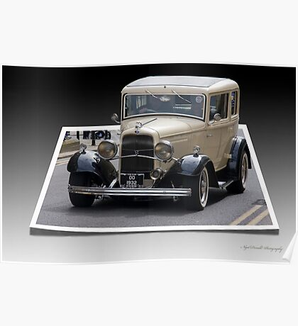 32 Ford out of bounds  Poster