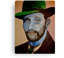 Portrait of my Grandfather Canvas Print