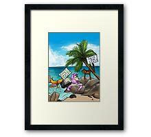 Environmentally Friendly Framed Print