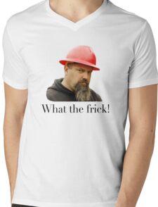 What the frick Mens V-Neck T-Shirt