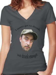 Moonshiners - Tickle Women's Fitted V-Neck T-Shirt