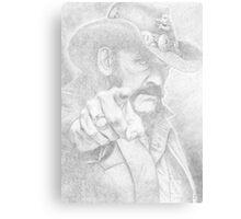 Lemmy from Motorhead Metal Print
